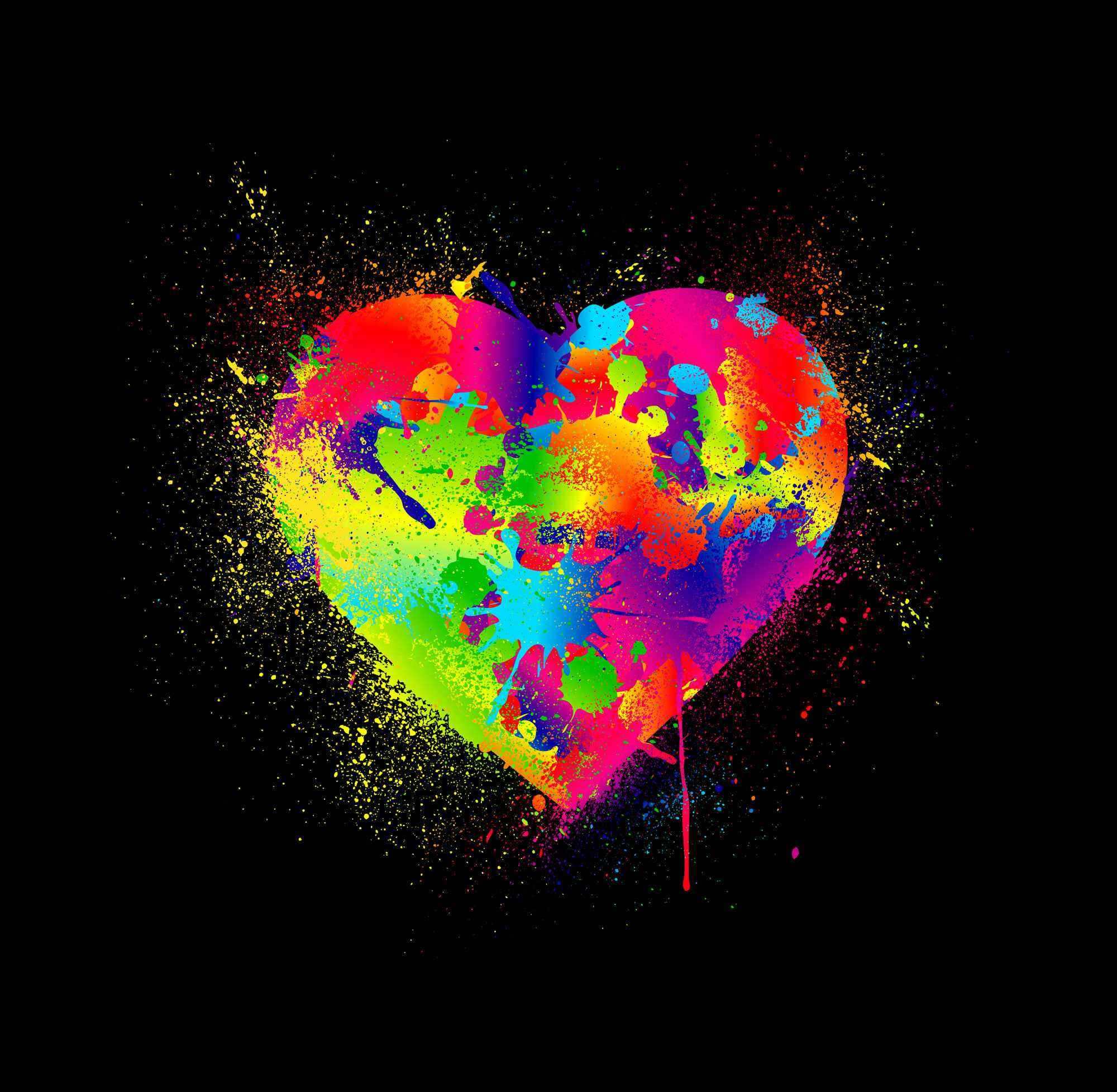 Любовь и яркие краски