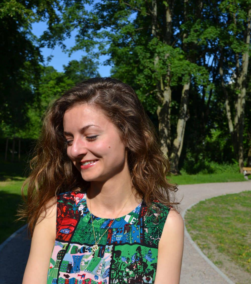 Gaudi-Look (Гауди-лук), лук июля, летний лук