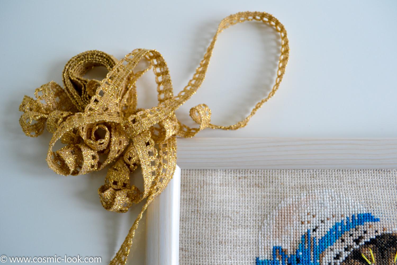 Подарки своими руками: вышивка крестиком