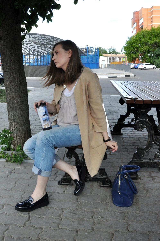 широкий кардиган Настя Есик
