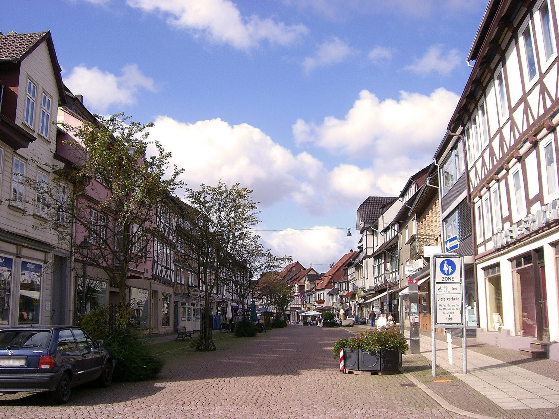 магазины в Германии. город Услар