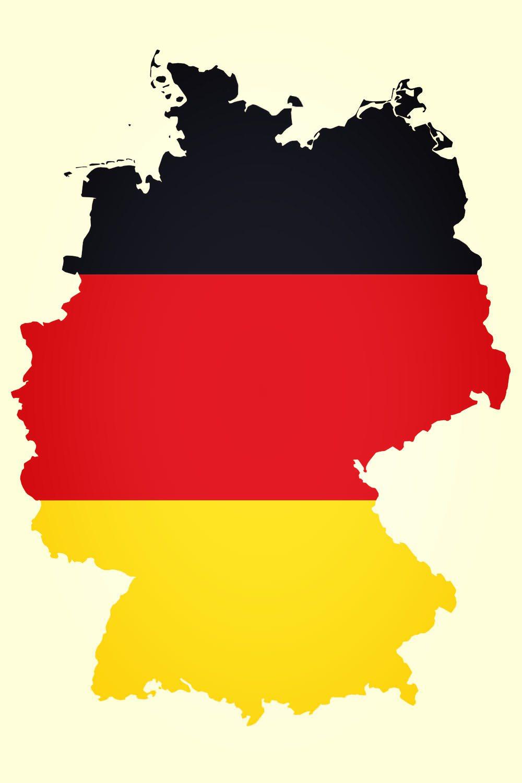 Германии. Флаг Германии.