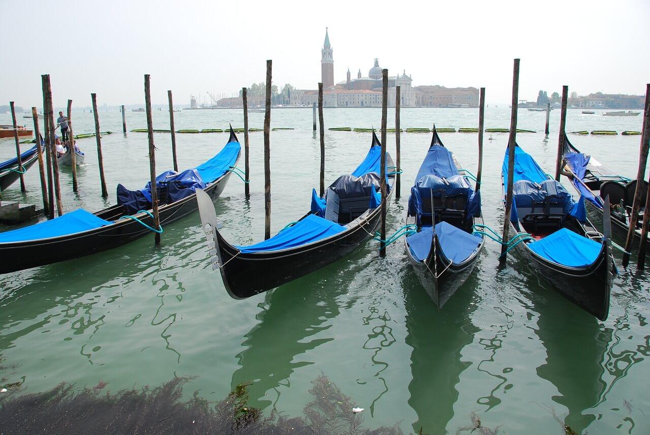 Гандолы, Венеция