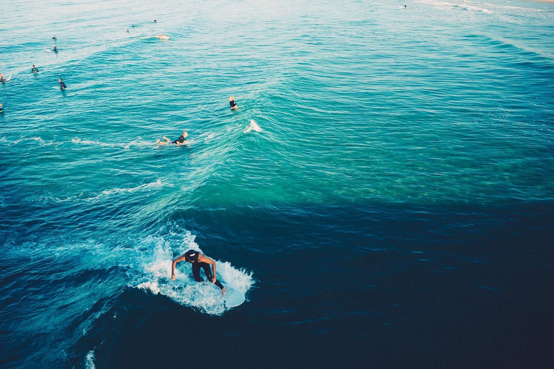 Серфинг. Океан. Волны. Экстрим