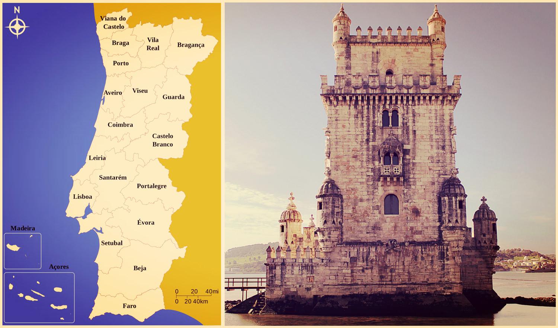 Португалия. Лиссабон. Центральная Португалия