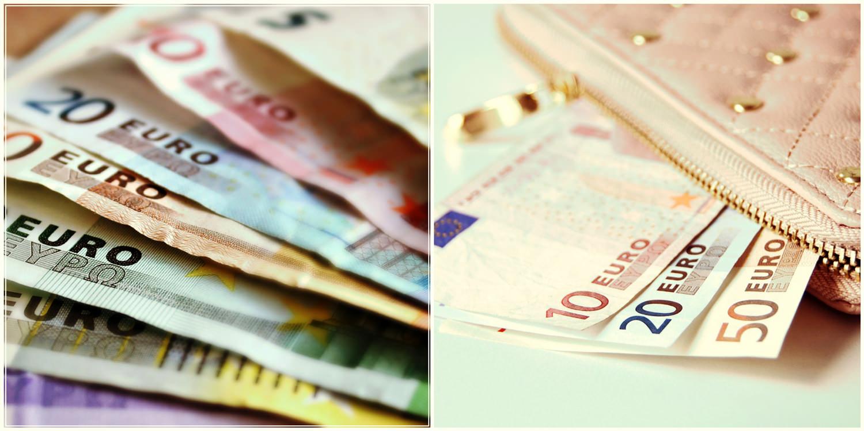 Залог и деньги. Евро.
