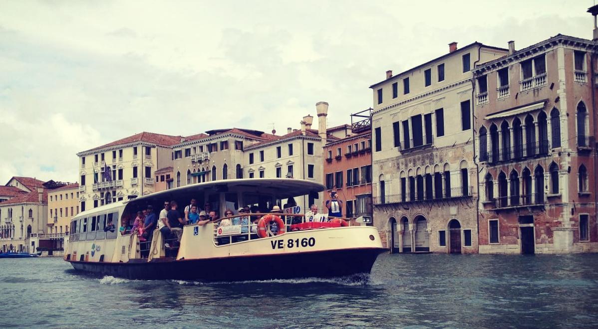 Вапоретто, Венеция