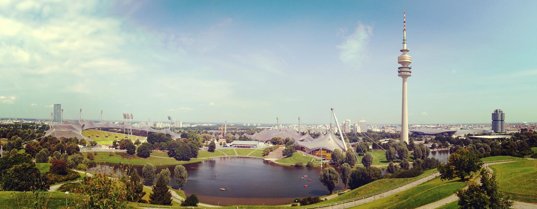 Олимпийский парк Мюнхен, Германия