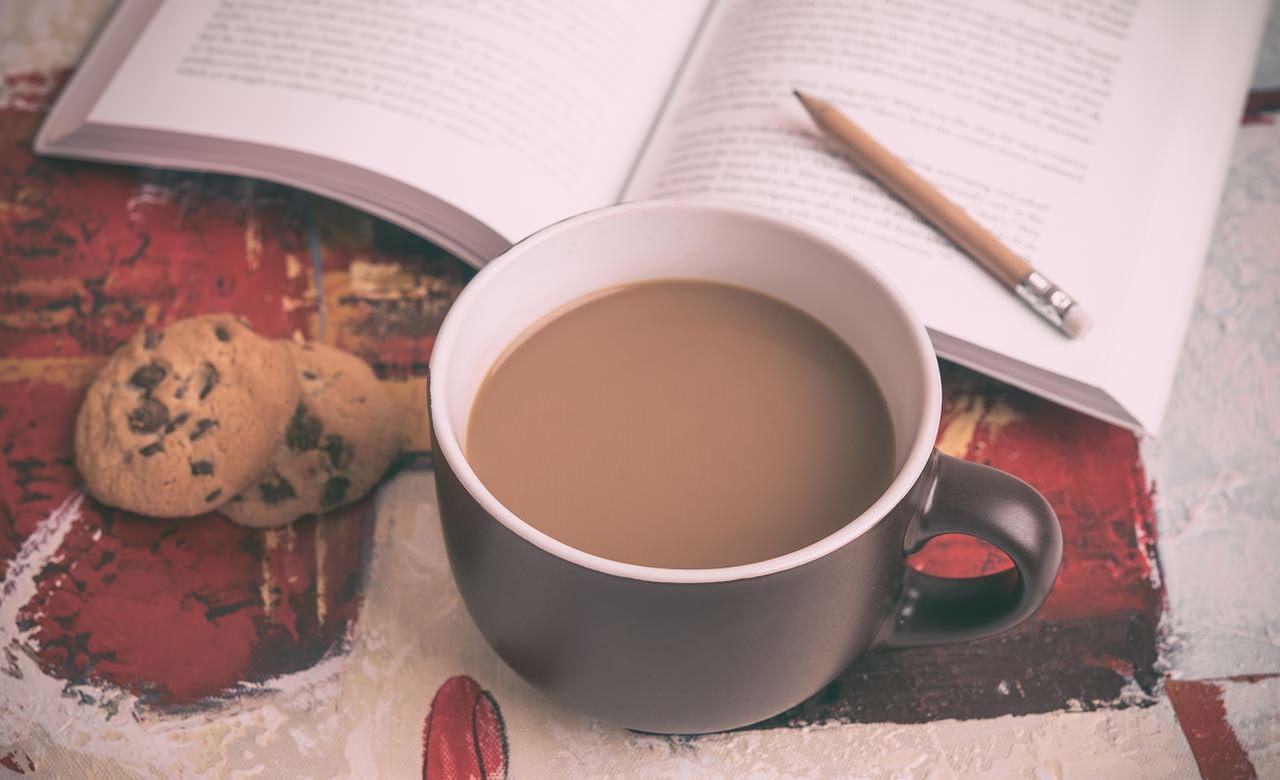 Книги, кофе и печеньки