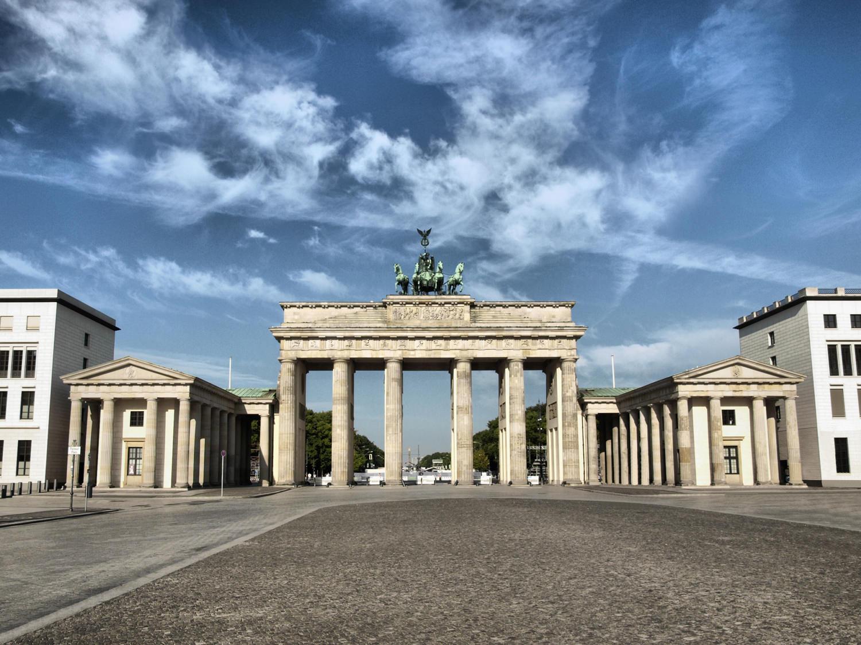 Берлин. Столица Германии. Брандернбургские ворота