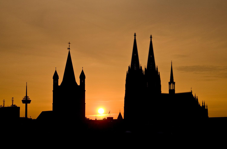 Кельн. Германия. Собор в Кельне